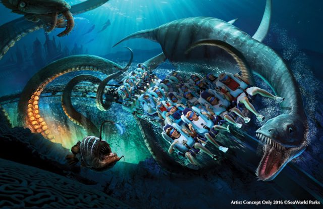SeaWorld Parks & Entertainment unveils new attractions for 2017