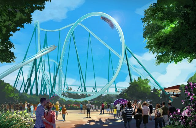SeaWorld San Diego Announces New Dive Coaster For 2020