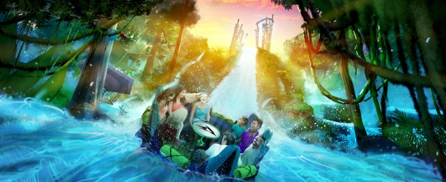 SeaWorld Orlando is Ready to Rush the Rapids with Infinity Falls