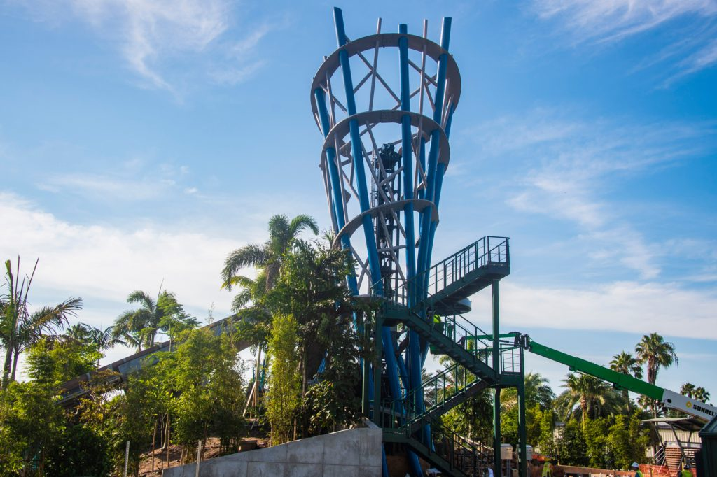 World's tallest river rapids attraction reaches new heights
