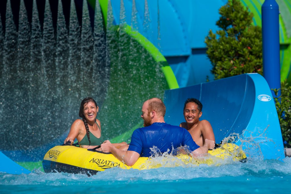 Aquatica Orlando's Ray Rush slide now open