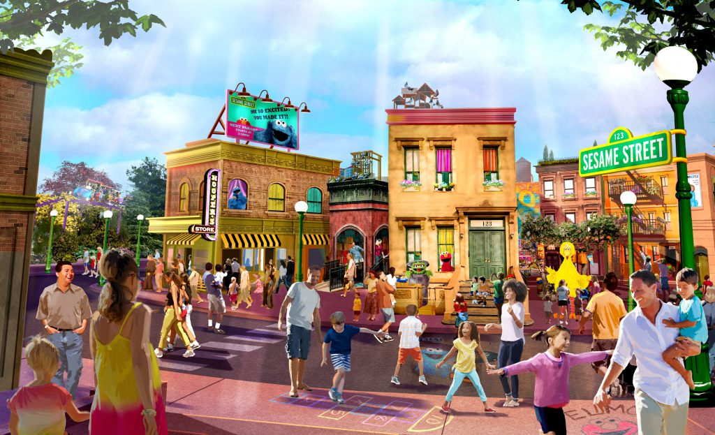 Sesame Street at SeaWorld Orlando coming spring 2018