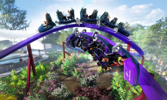 New Duelling Rollercoaster 'Tidal Twister' Coming To SeaWorld San Diego in 2019