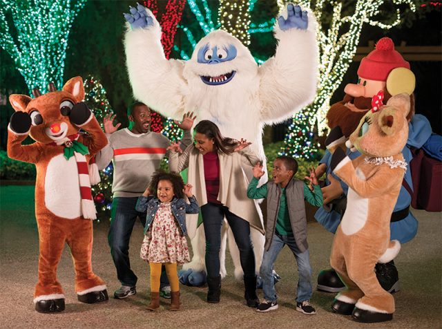 It's Christmas Every Day At Busch Gardens Christmas Town, Beginning 17 November