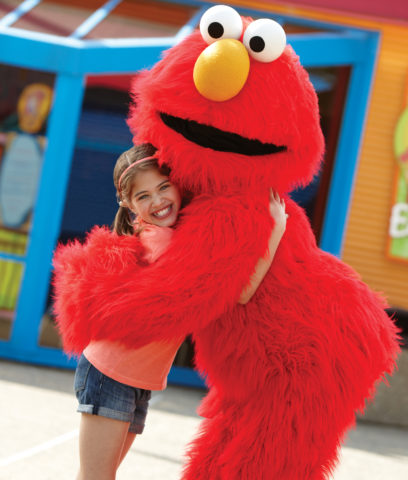 Sesame Street at SeaWorld is Open