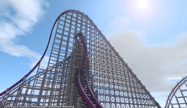 NEW hybrid coaster arriving at Busch Gardens in 2020