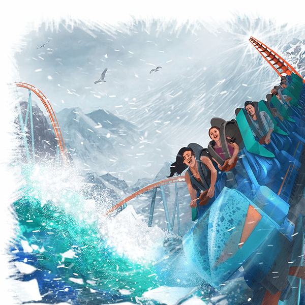 SeaWorld Parks & Entertainment reveals ride cars and new details of 2020 attractions