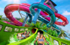 On your mark, get set, slide! Riptide Race is now open at Aquatica thumbnail image
