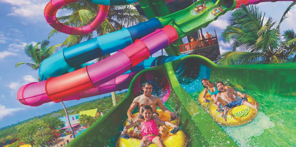 Florida's first duelling waterslide comes to Aquatica in 2020
