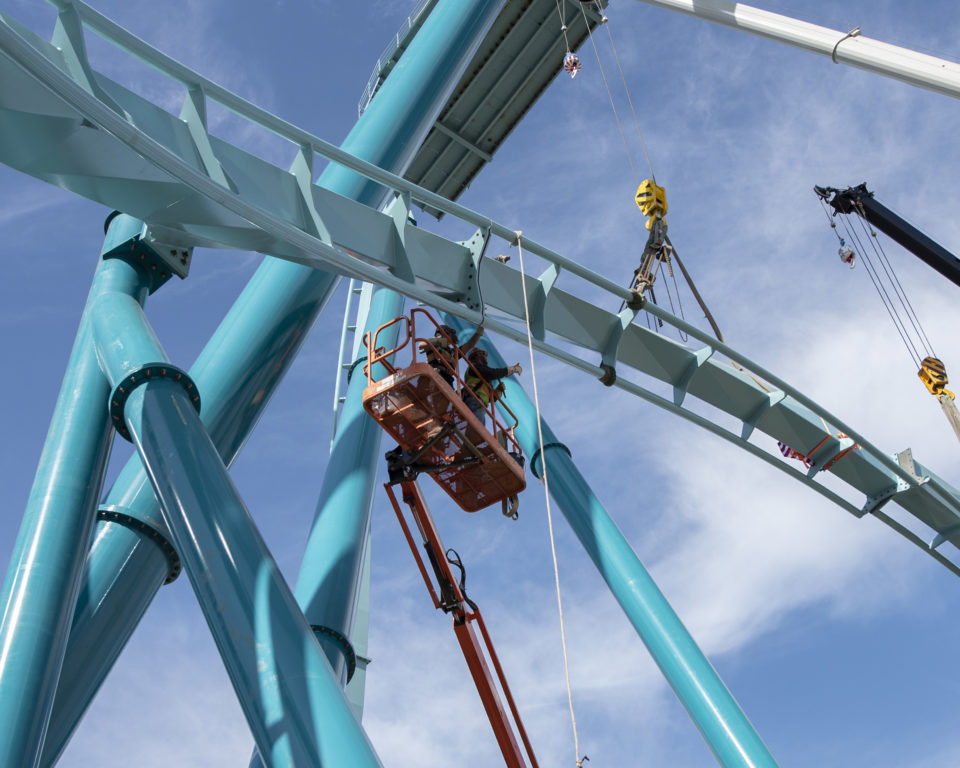 SeaWorld's new dive coaster hits two new milestones